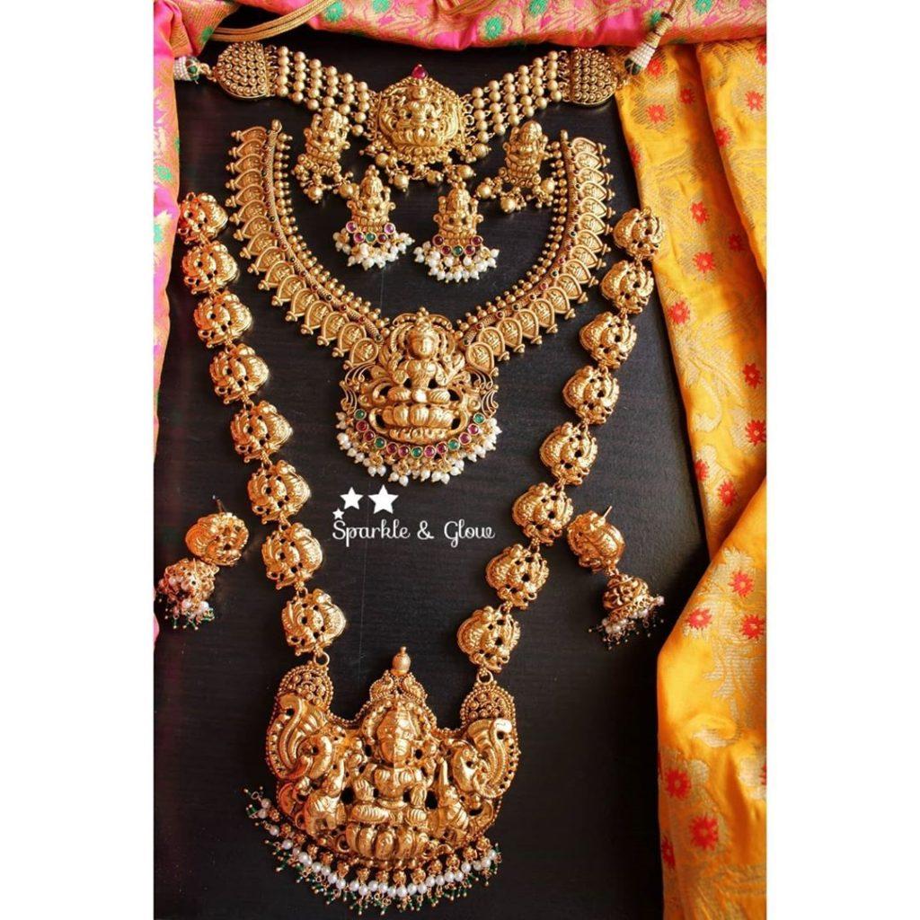 antique-lakshmi-necklace-designs-9