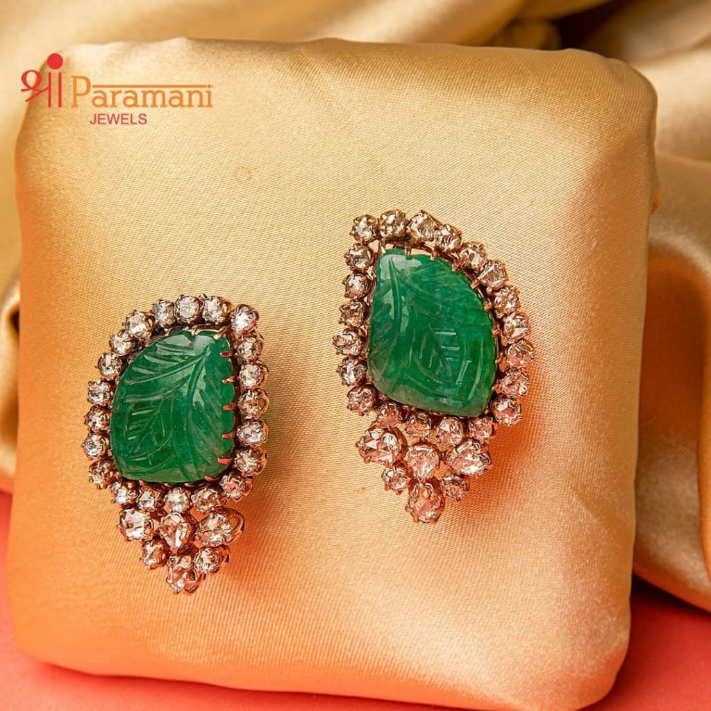 trendy-earrings-for-saree-13