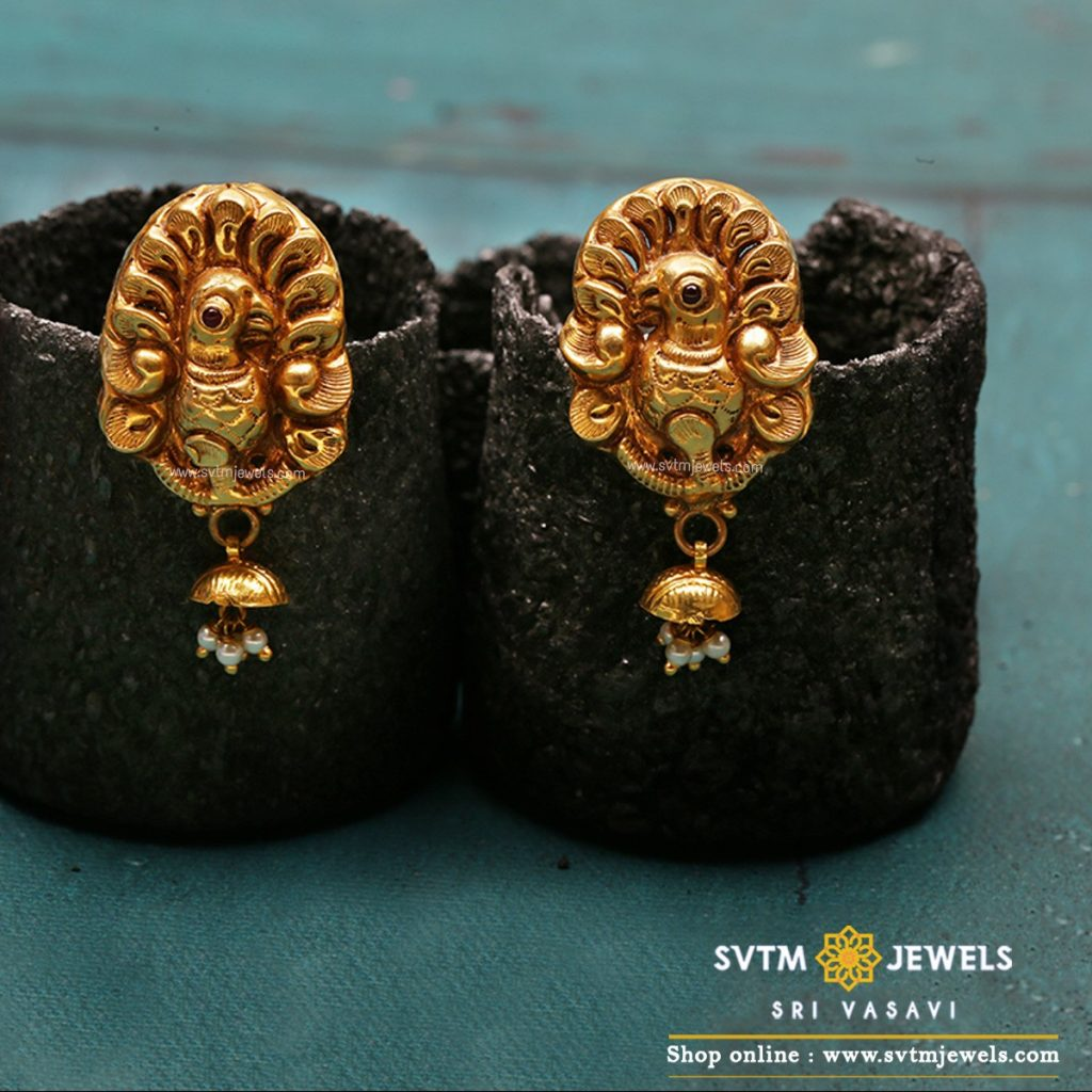 gold-earrings-online-india