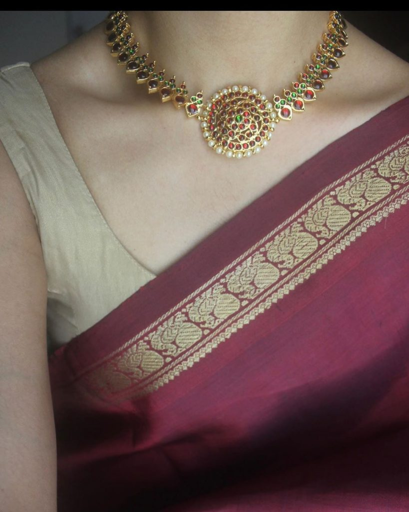 necklace-for-saree-online-14