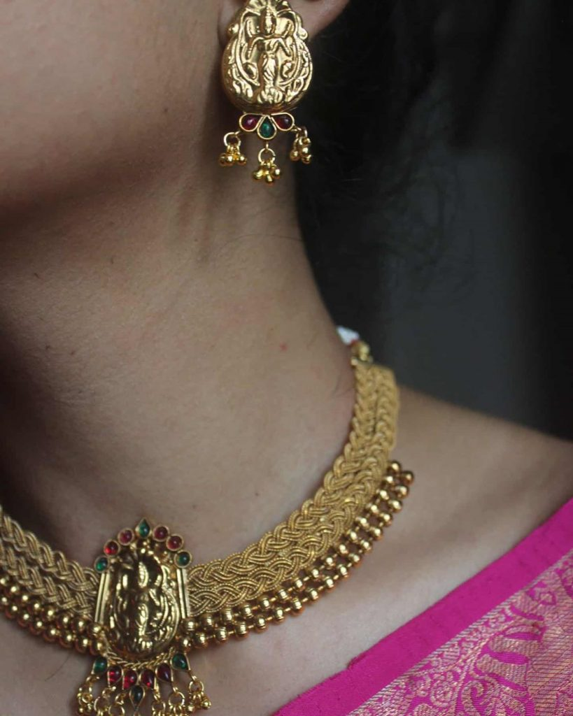 necklace-for-saree-online