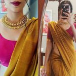 Simple Necklace Designs To Look Graceful on Sarees