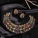 Stylish Silver Necklace Designs for Ethnic Outfits