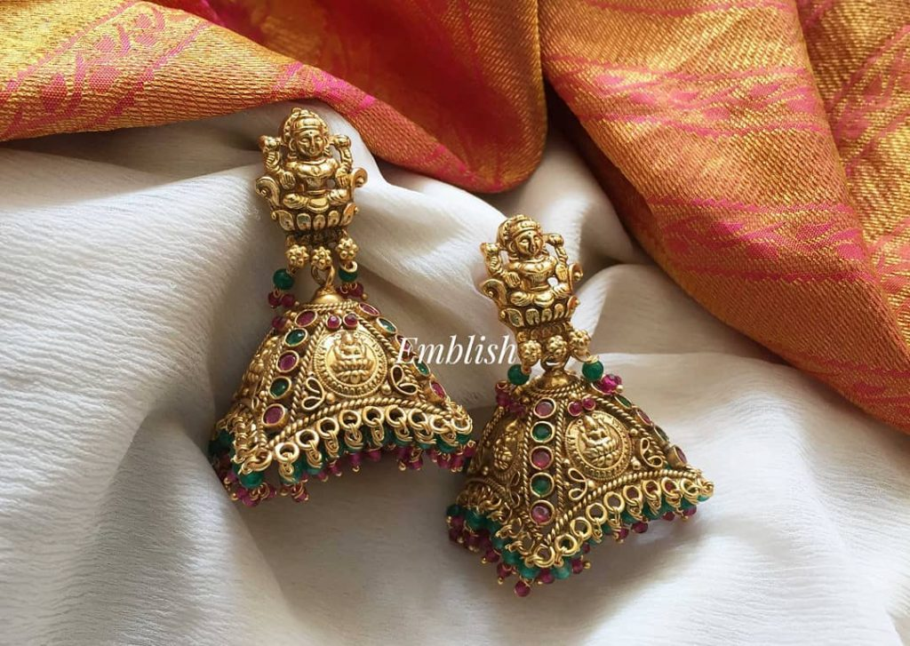 ethnic-earrings-for-saree-14