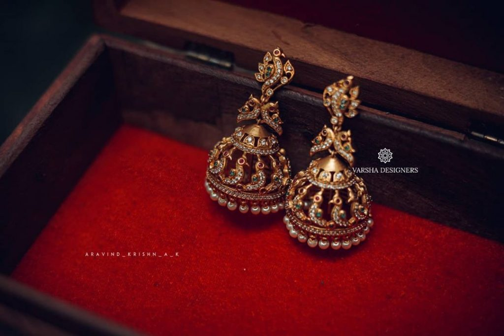 ethnic-earrings-for-saree-3