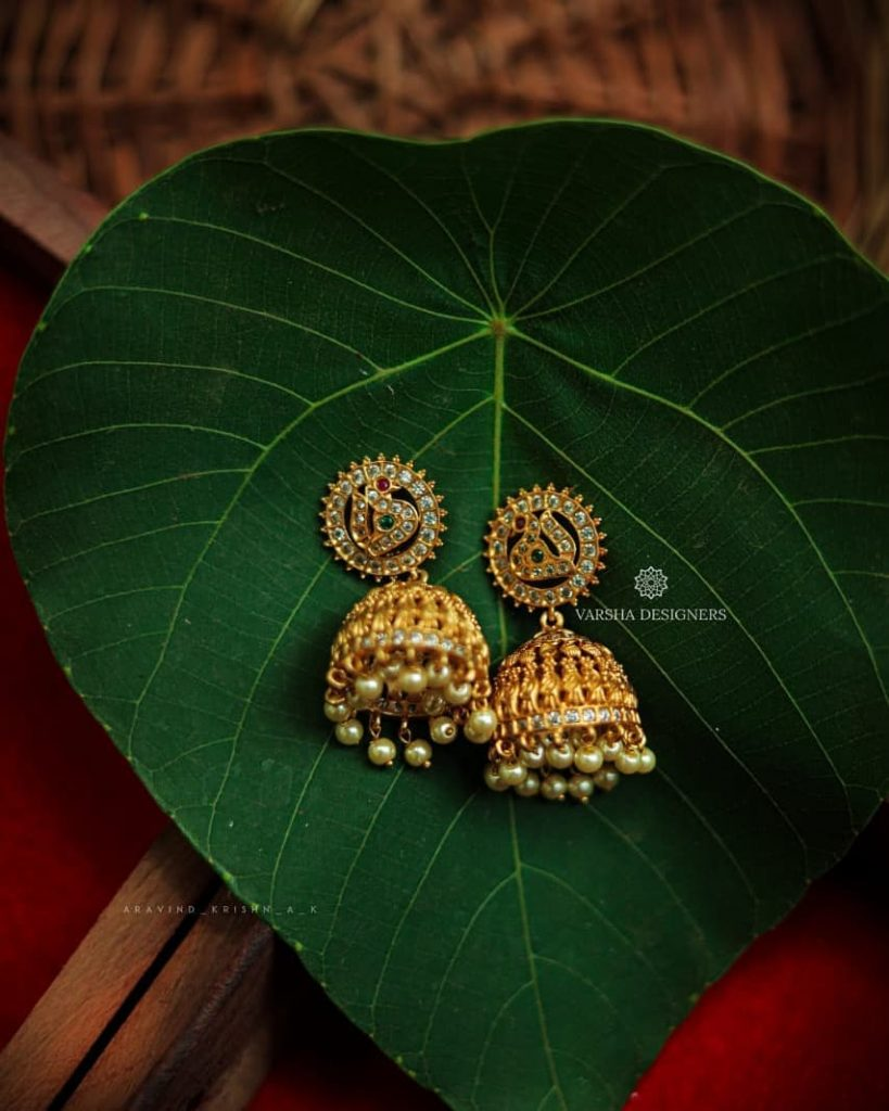 ethnic-earrings-for-saree-4