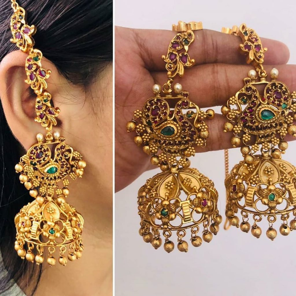 ethnic-earrings-for-saree-8