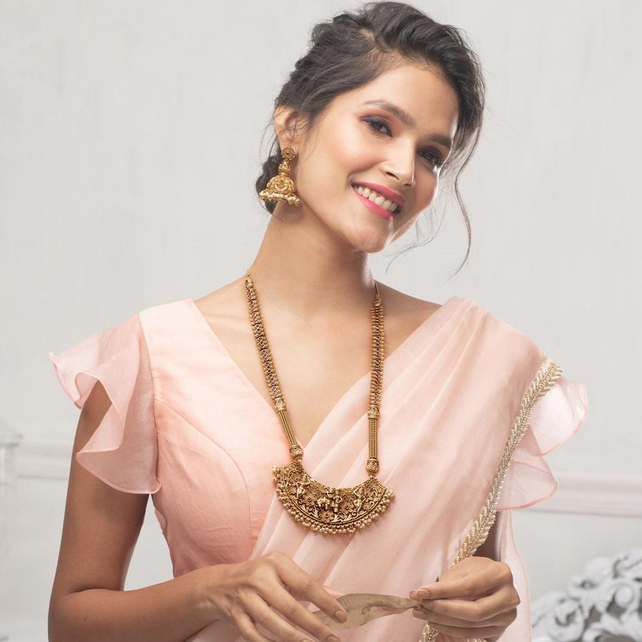 long-necklace-for-saree-21
