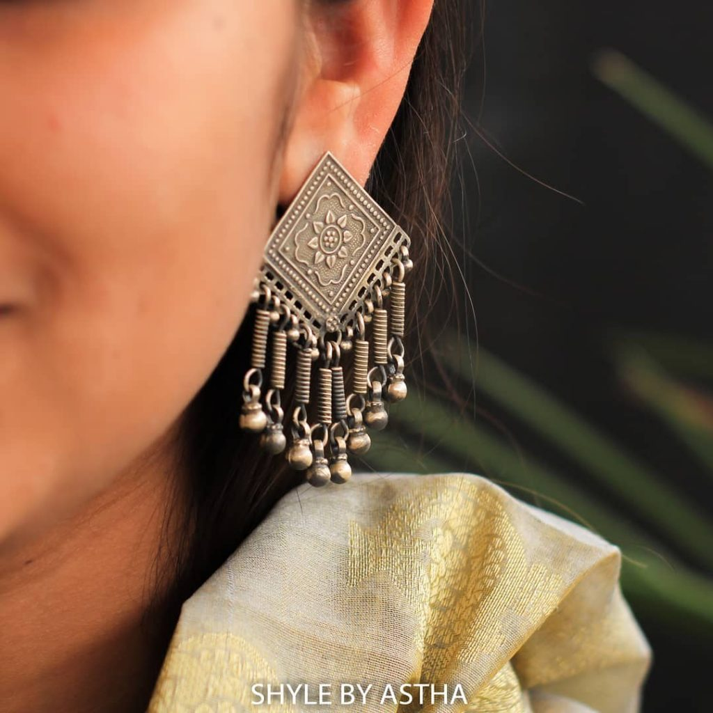 silver-earrings-boho-1