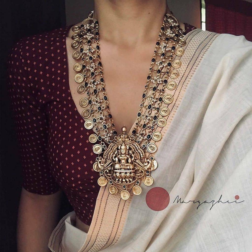 traditional-necklace-for-saree-13