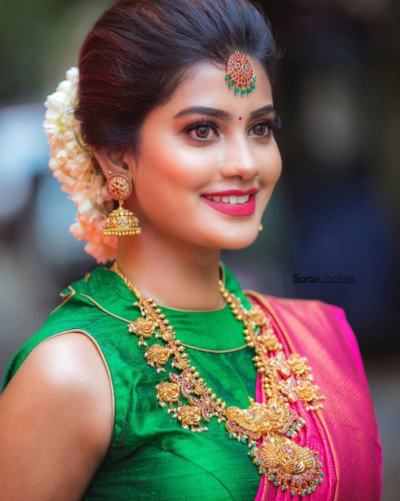 traditional-necklace-for-saree-17