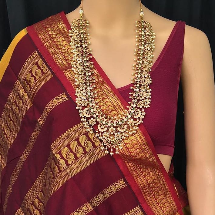 traditional-necklace-for-saree-2