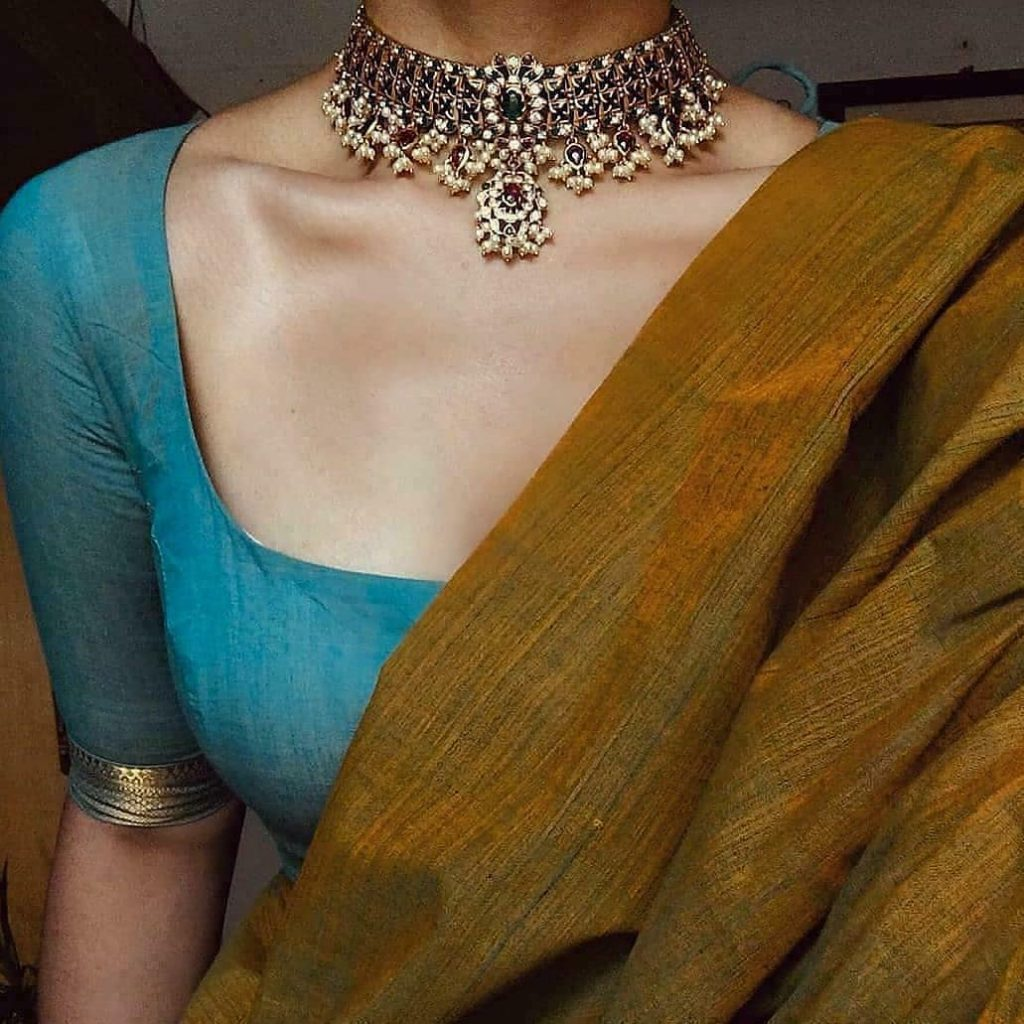 traditional-necklace-for-saree-6