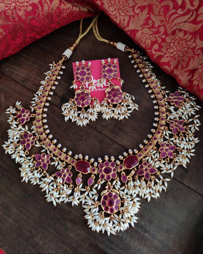antique-jewellery-set-for-wedding-12