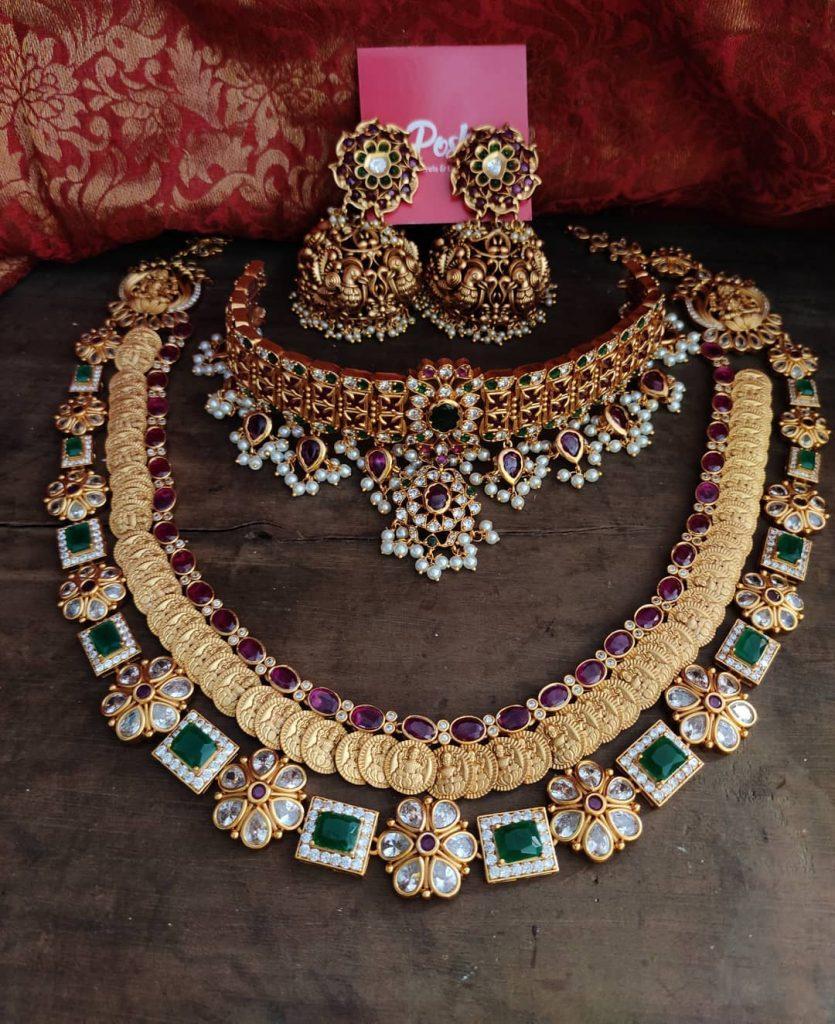 antique-jewellery-set-for-wedding