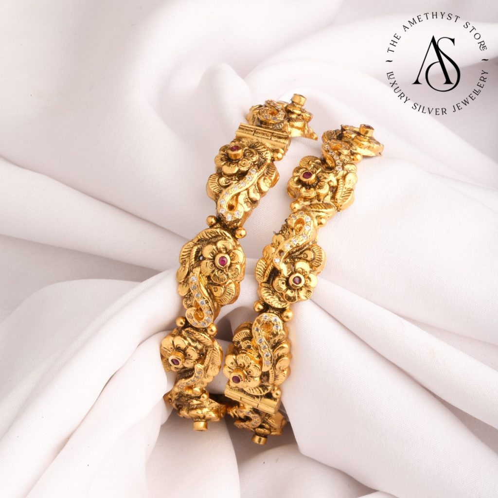 silver-gold-plated-bangles-11