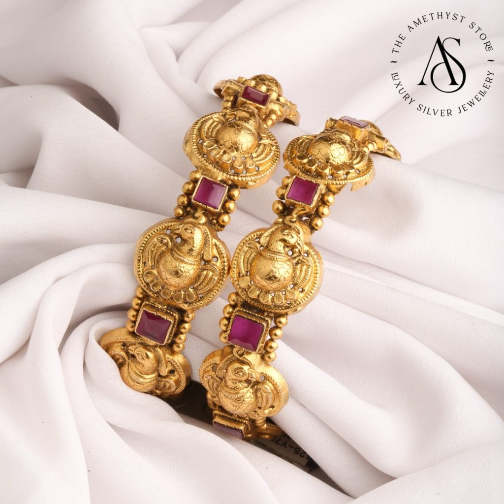 silver-gold-plated-bangles-14