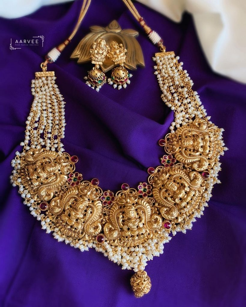 Quintessential Pearl Drop Jewellery Designs