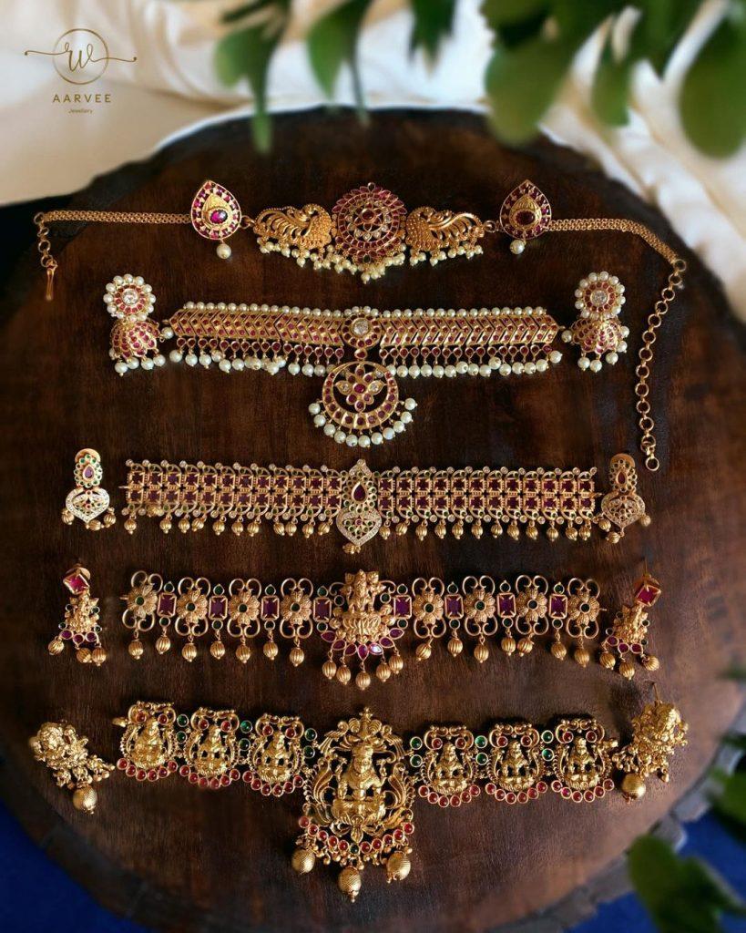 Types Of Neckpieces