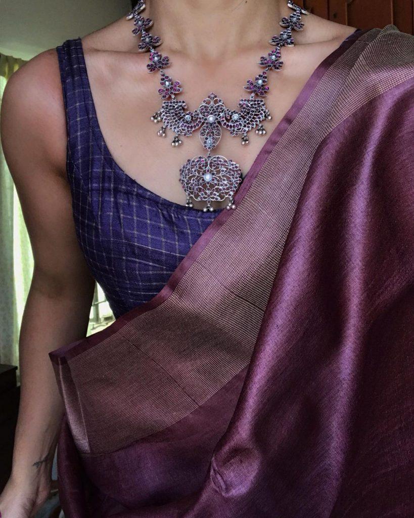 Rock A Saree & Silver Jewellery