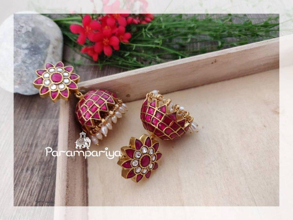 Traditional Kundan Earrings