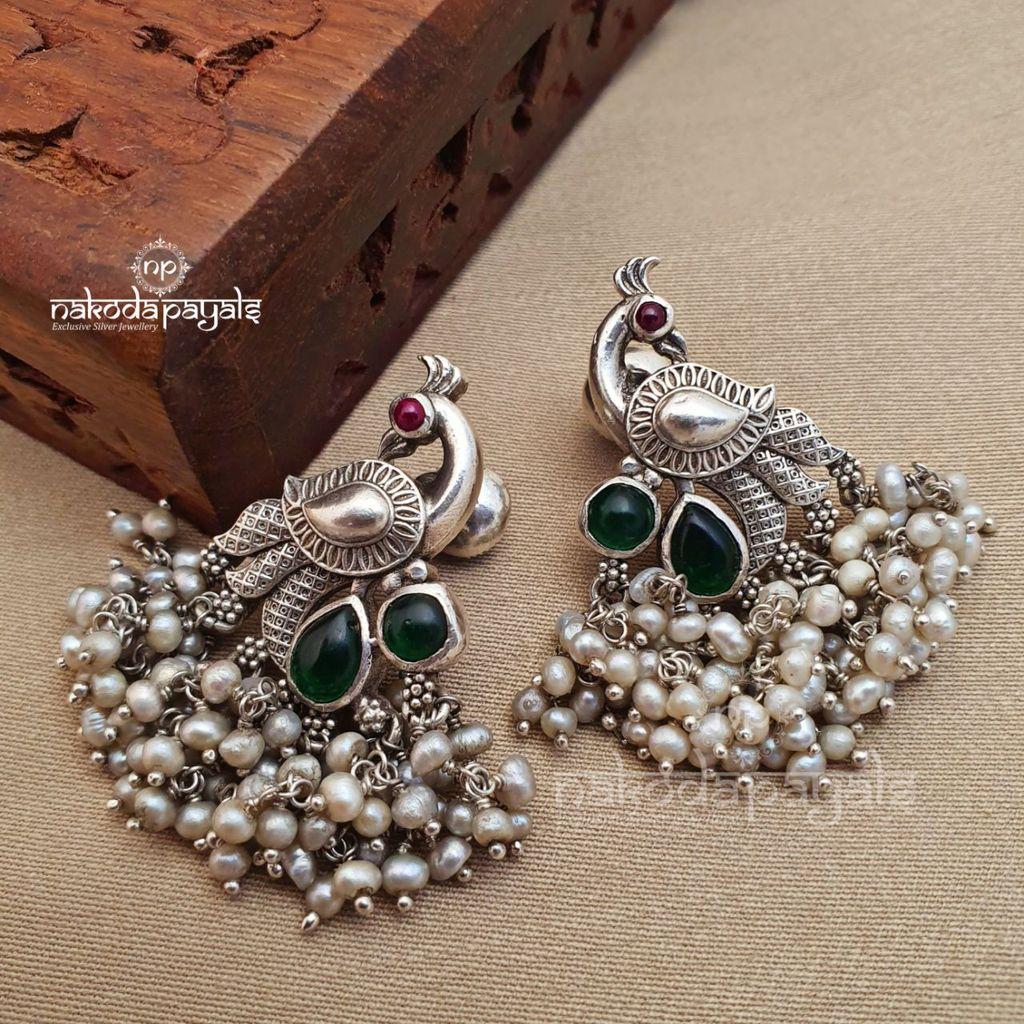 Silver Dangler Earrings