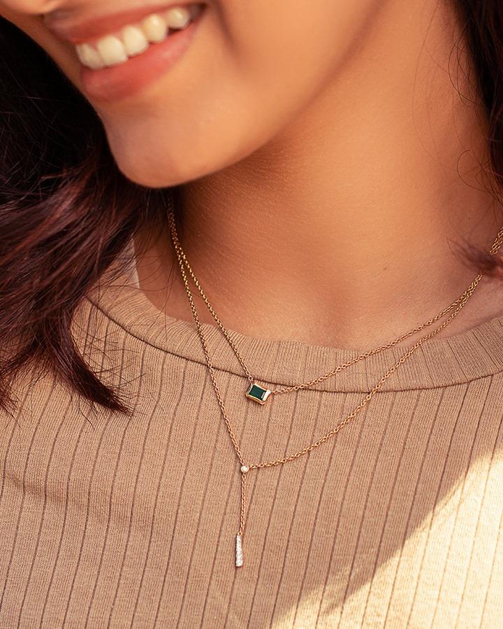 Dainty Minimalistic Diamond Jewellery