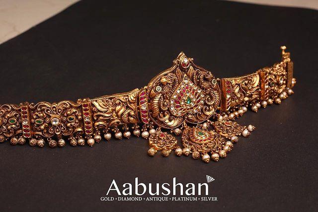 Heavy Temple Jewellery